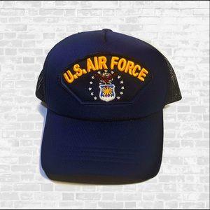 Vintage US AIR FORCE NET SNAP BACK